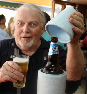 A moment for rehydration in the summer heat of Buenos Aires