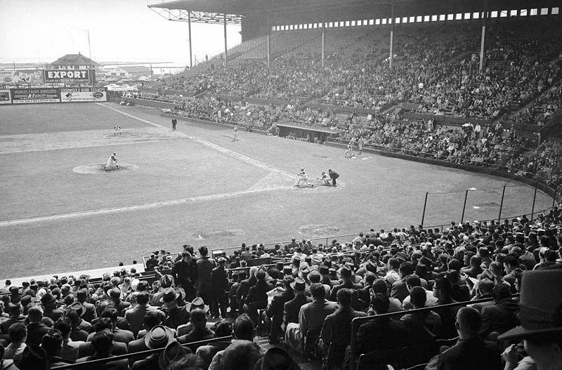 Original Maple Leaf Baseball Stadium