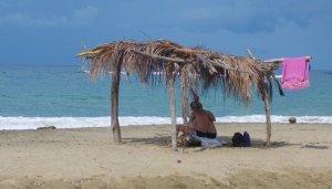 Only beach hut in Manzanillo