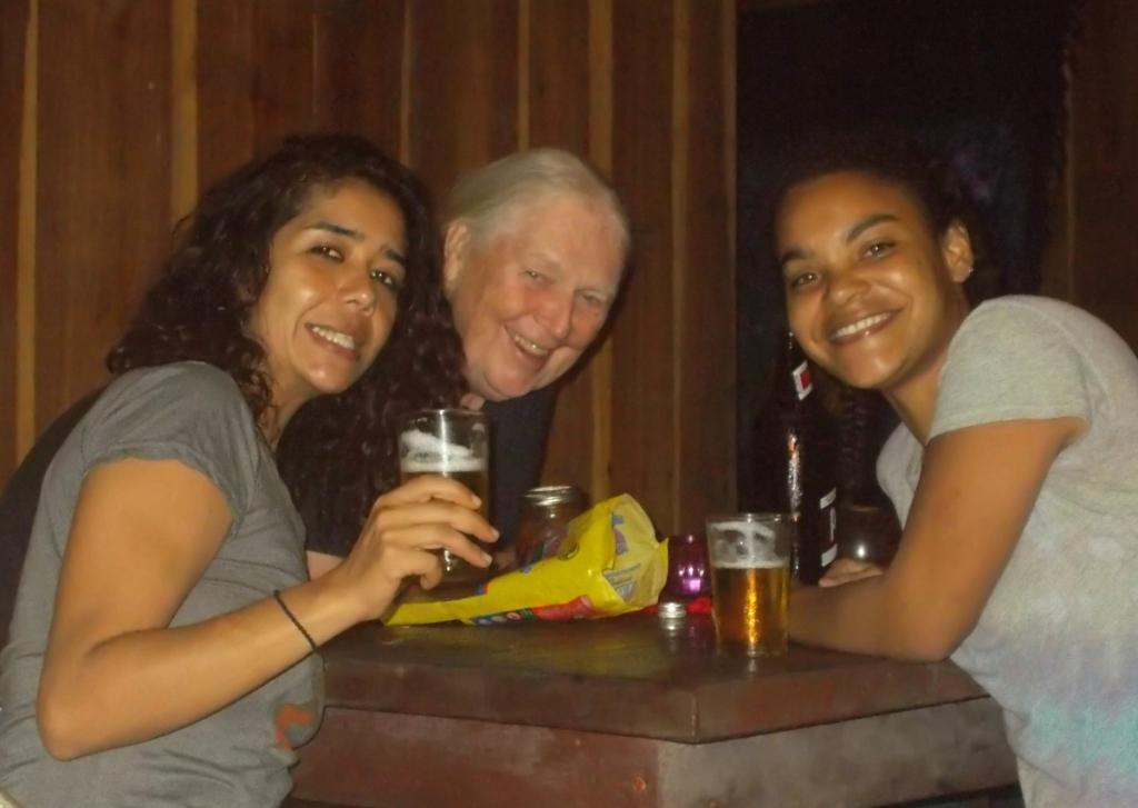 These are my friends in Playa Chiquita Jennifer and Carolina.