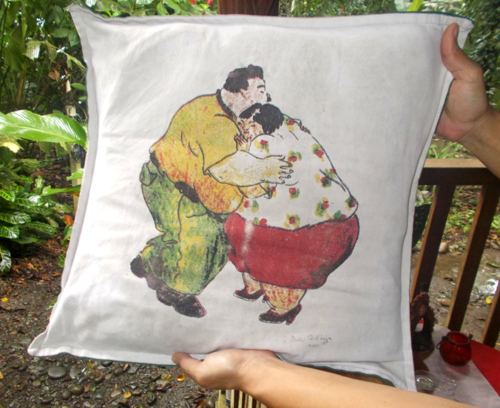 Pillow Art - Unabashed honesty in the pillow Art of Costa Rica